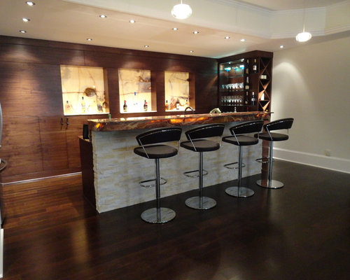 Modern basement bar ideas pictures remodel and decor for Basement cabinet ideas