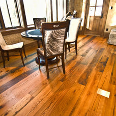 Rustic Basement by Trestlewood