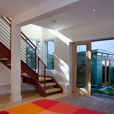 Contemporary Basement by Rossington Architecture