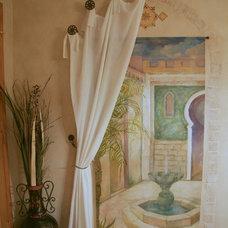 Mediterranean Basement by Design By Alicia