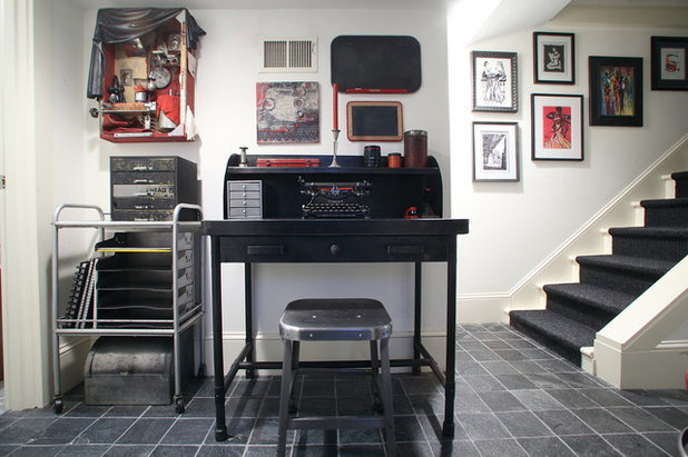 Eclectic Basement by Teness Herman