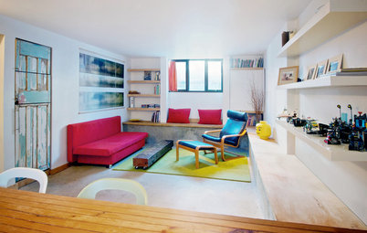 My Houzz: Creative Moves Turn a Toronto Basement Into a Stylish Rental