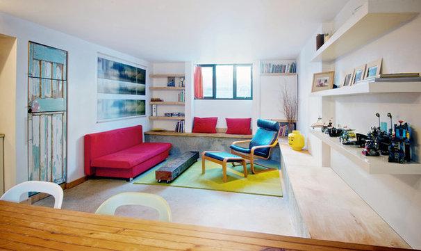 Suivez le guide un sous sol de toronto transform en un - Maison moderne toronto par studio junction ...