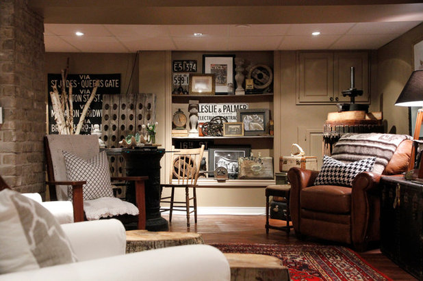 Eclectic Basement by Esther Hershcovich