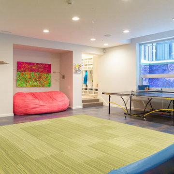 My Houzz: Pop Art, Humor and Whimsy in Modern Eclectic Chicago Home