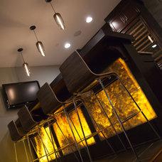 Modern Basement by Oakley Home Builders