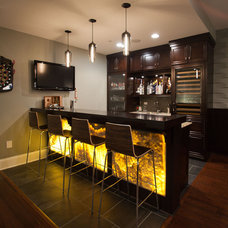 Traditional Basement by Oakley Home Builders