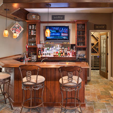 Traditional Basement by Build Cincinnati of Coldwell Banker