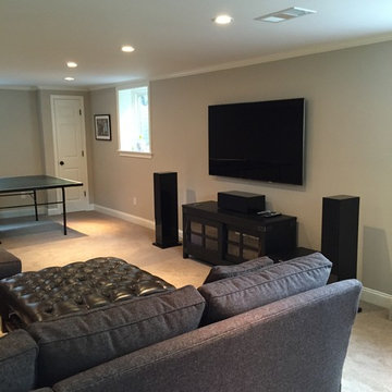New Home Entertainment System Room