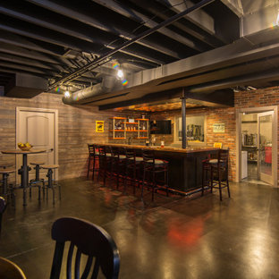 North Ann Arbor Basement Remodel: Home Brewpub