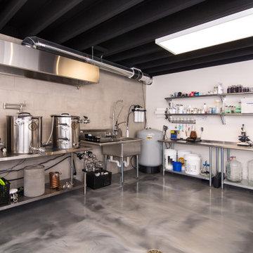 North Ann Arbor Basement Remodel: Home Brewpub