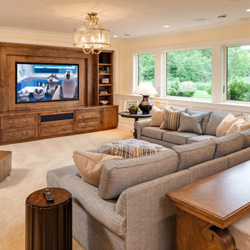 North Oaks - Traditional Lower Level Finish