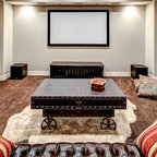 Algonquin Traditional Basement Chicago By Dennis Foote