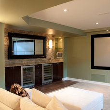 Contemporary Basement by Dalton Distinctive Renovations