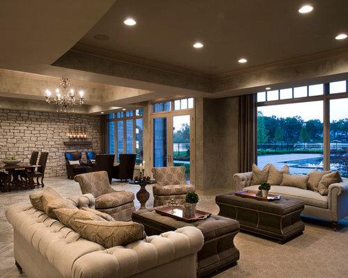 Walk out basement design ideas renovations photos with for Best flooring for walkout basement