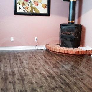 Orangeville - Basement Grey Laminate Flooring