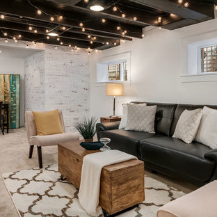 75 Most Popular Farmhouse Basement Design Ideas For 2019