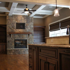 traditional basement by Plattner Custom Builders, LLC