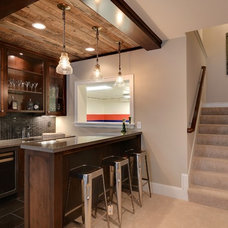 Contemporary Basement by Great Neighborhood Homes