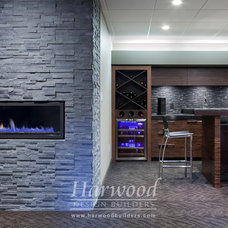 Modern Basement by Harwood Design Builders Ltd.