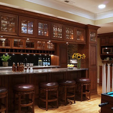Traditional Basement by Assyrian Star Construction Inc