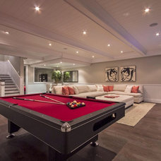 Contemporary Basement by | MARSHALL DESIGN GROUP |
