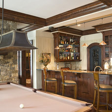 Traditional Basement by LS3P | Neal Prince Studio