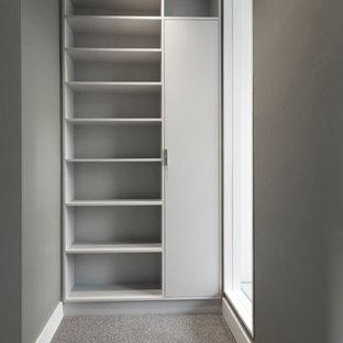 Design ideas for a medium sized modern basement in London.
