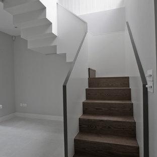 Inspiration for a medium sized modern basement in London.