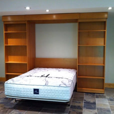Traditional Basement by London Murphy Beds, Inc.