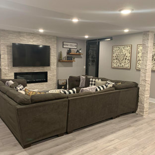 Pintail Water Valley Basement Finish