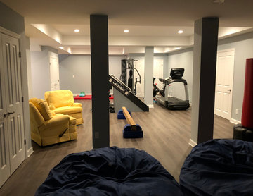 Playroom and Gym Area