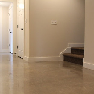 Polished Concrete Floor with Exposed Aggregate