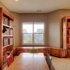 Rustic Basement by Blue Sky Remodeling