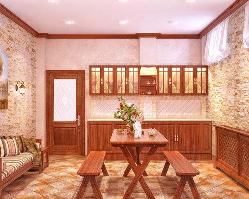 Foto e idee per taverne taverna in montagna con for Immagini taverna rustica
