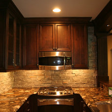 Traditional Basement by Distinctive Cabinets