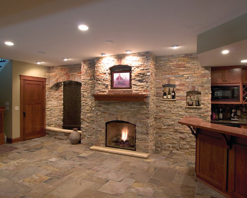 fireplaces using buechel stone. Black Bedroom Furniture Sets. Home Design Ideas