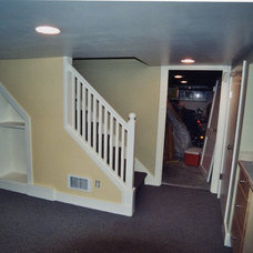 Traditional Basement by Seattle HomeWork