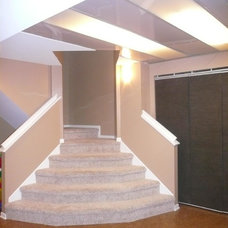Traditional Basement by Design Insight Inc.