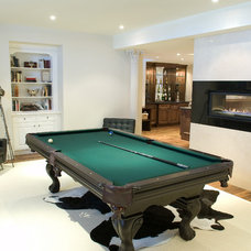 Traditional Basement by Rivermede Woodworking Ltd.