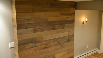 Reclaimed Lumber Wall Covering
