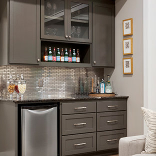 Refined - Lower Level Dry Bar | Che Bella Interiors