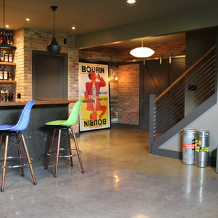 Residential Polished Concrete - Huntertown, Ind.