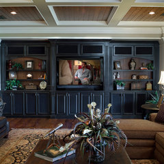 traditional basement by Duke Development