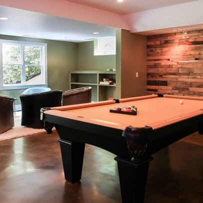 Basement wall treatment Design Ideas, Pictures, Remodel and Decor
