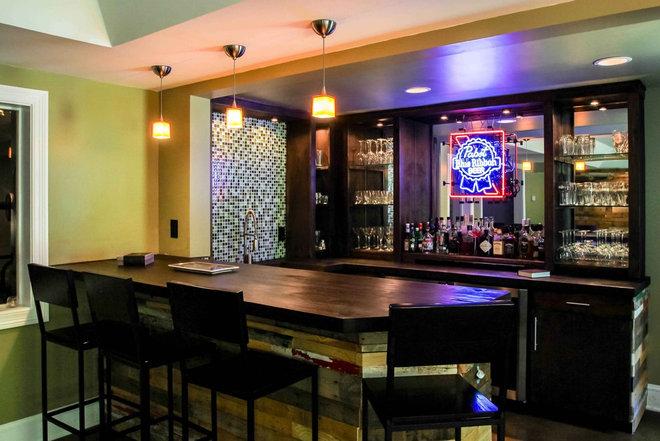 cool bar basement ideas