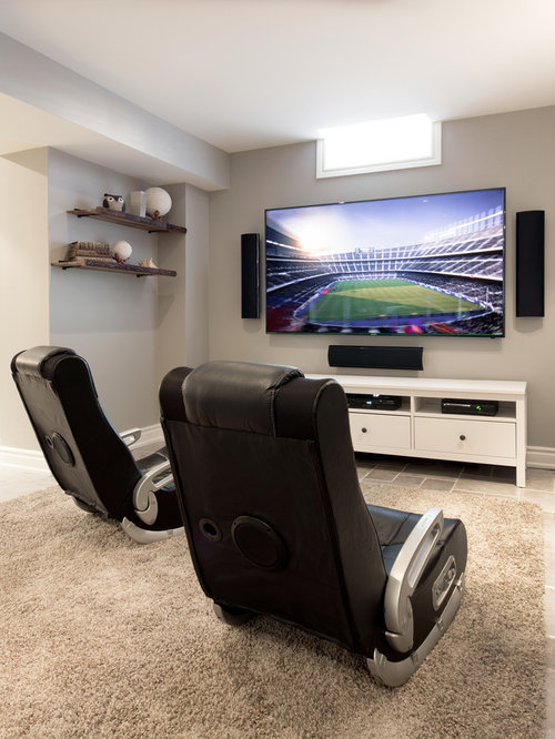 mount surround sound speakers design ideas & remodel pictures | houzz