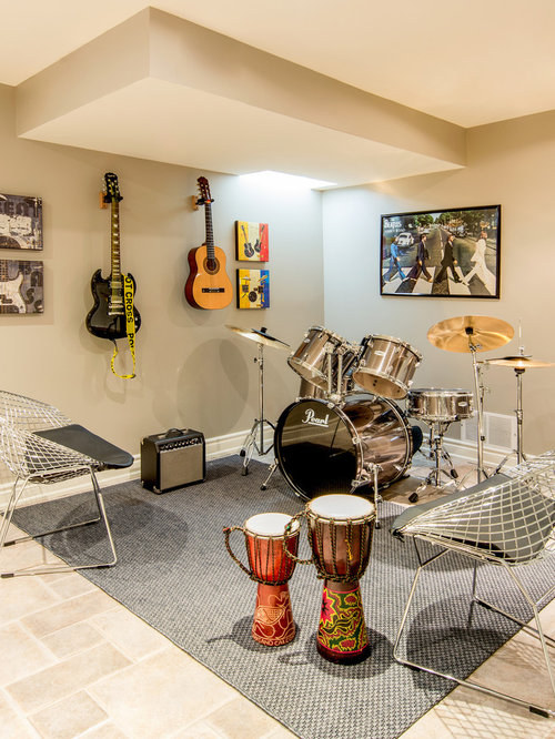 Music Room Houzz