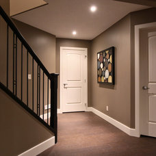 Traditional Basement by Urban Abode