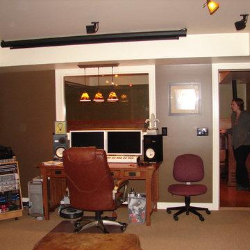 Saratoga Music Studio/Home Theatre